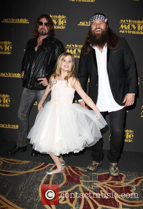 Billy Ray Cyrus, Kyla Kenedy and Willie Robertson 6