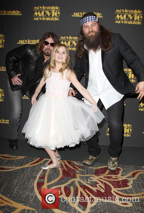 Billy Ray Cyrus, Kyla Kenedy and Willie Robertson 9