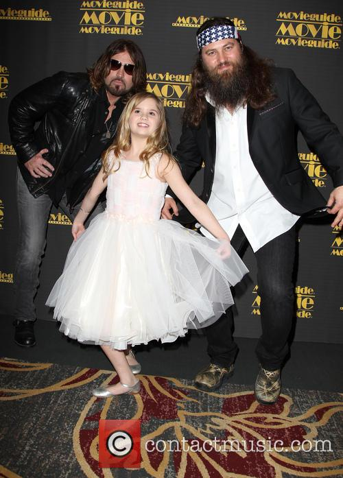 Billy Ray Cyrus, Kyla Kenedy and Willie Robertson 10