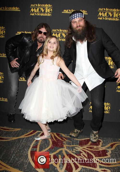 Billy Ray Cyrus, Kyla Kenedy and Willie Robertson 11