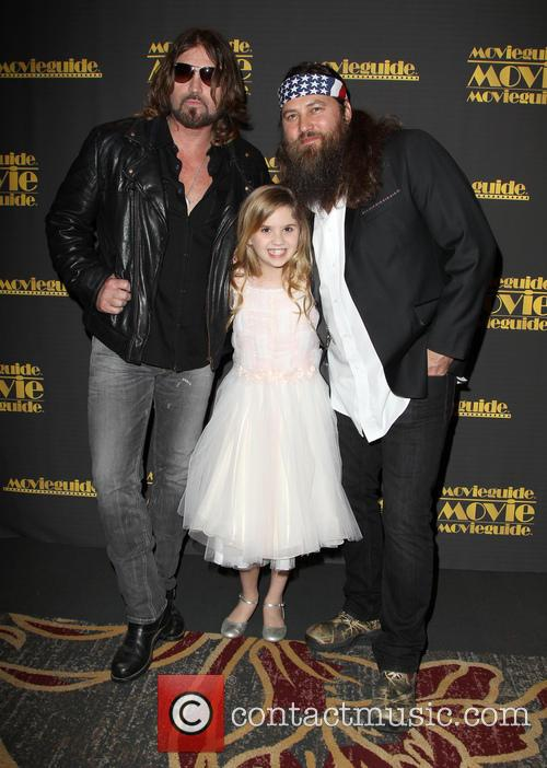 Billy Ray Cyrus, Kyla Kenedy and Willie Robertson 1