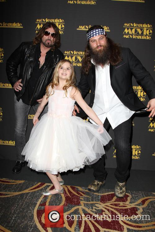 Billy Ray Cyrus, Kyla Kenedy and Willie Robertson 13