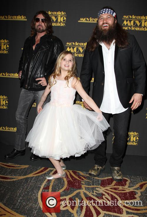 Billy Ray Cyrus, Kyla Kenedy and Willie Robertson 14