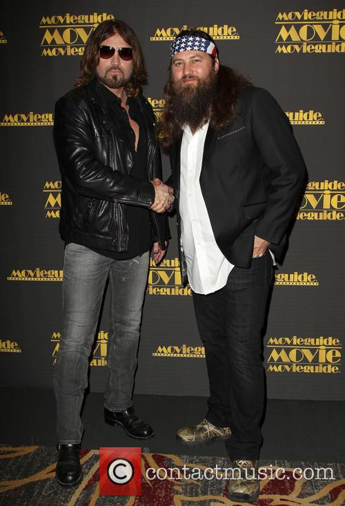 Billy Ray Cyrus and Willie Robertson 3