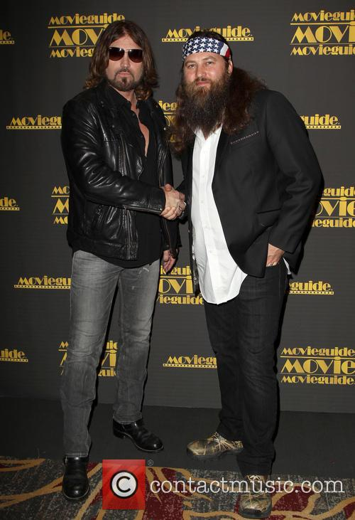 Billy Ray Cyrus and Willie Robertson 6