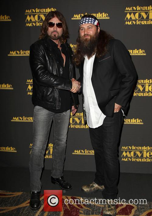 Billy Ray Cyrus and Willie Robertson 9