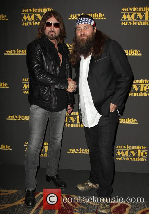 Billy Ray Cyrus and Willie Robertson 1