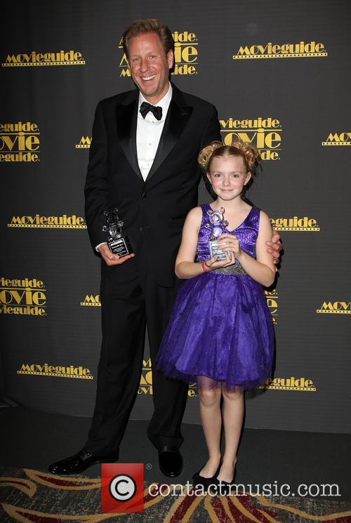 David Rosenbaum and Elsie Fisher