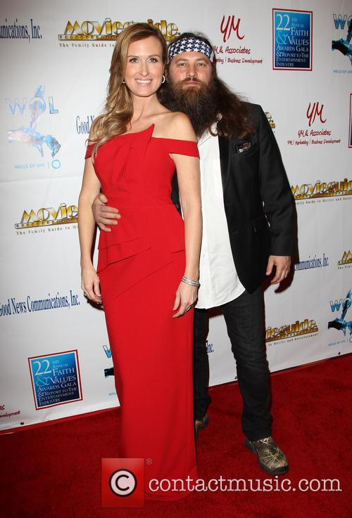 Korie Robertson and Willie Robertson 3