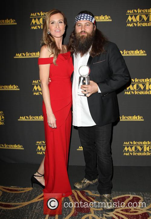 Korie Robertson and Willie Robertson 9