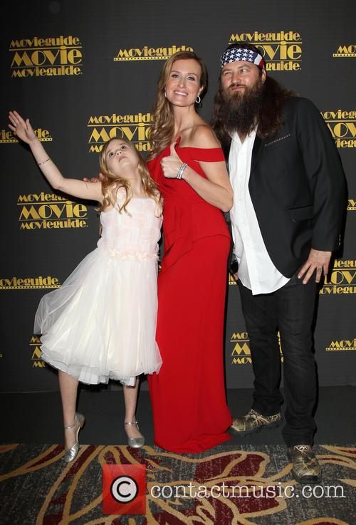 Kyla Kenedy, Korie Robertson and Willie Robertson 3