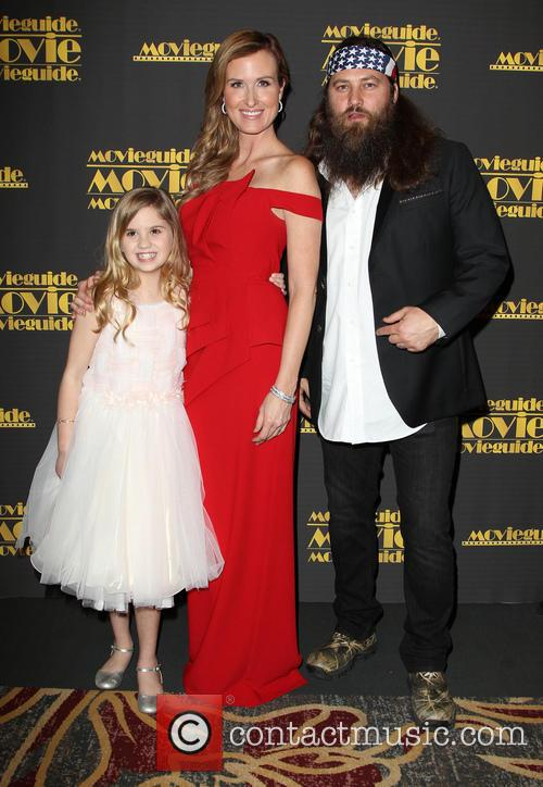 Kyla Kenedy, Korie Robertson and Willie Robertson 4