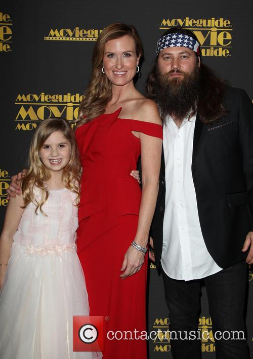 Kyla Kenedy, Korie Robertson and Willie Robertson 6