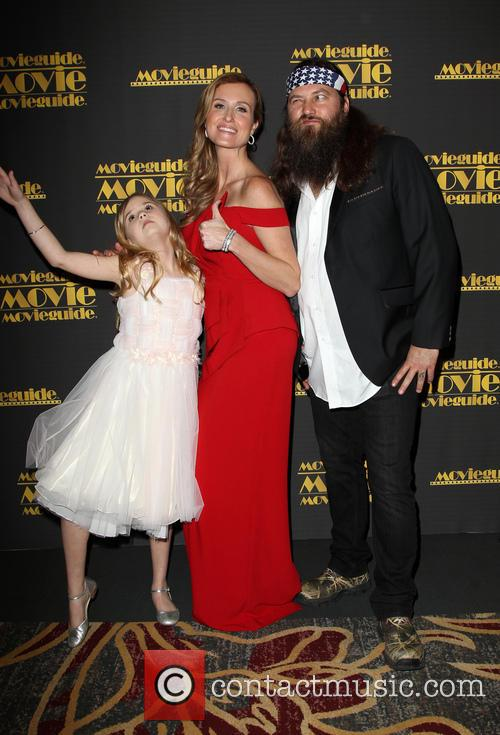 Kyla Kenedy, Korie Robertson and Willie Robertson 7
