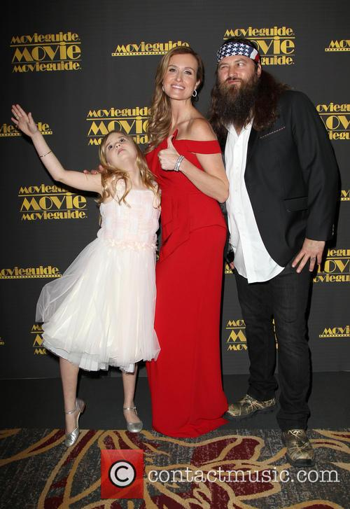 Kyla Kenedy, Korie Robertson and Willie Robertson 1