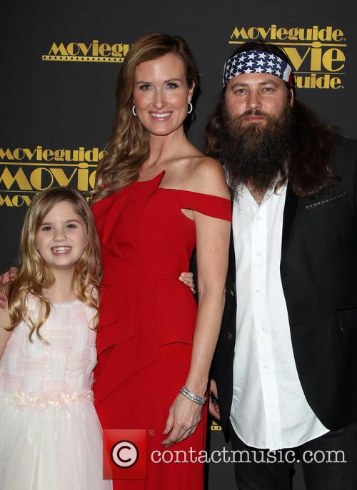 Kyla Kenedy, Korie Robertson and Willie Robertson 10