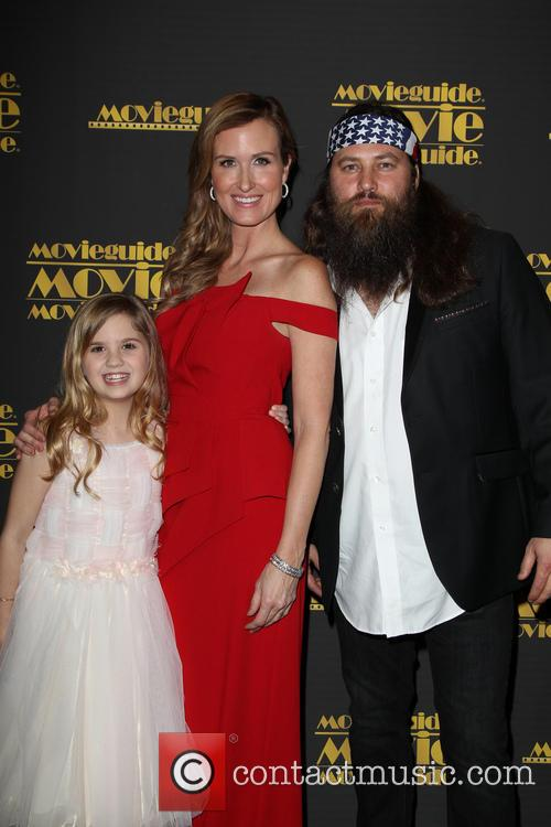 Kyla Kenedy, Korie Robertson and Willie Robertson 11