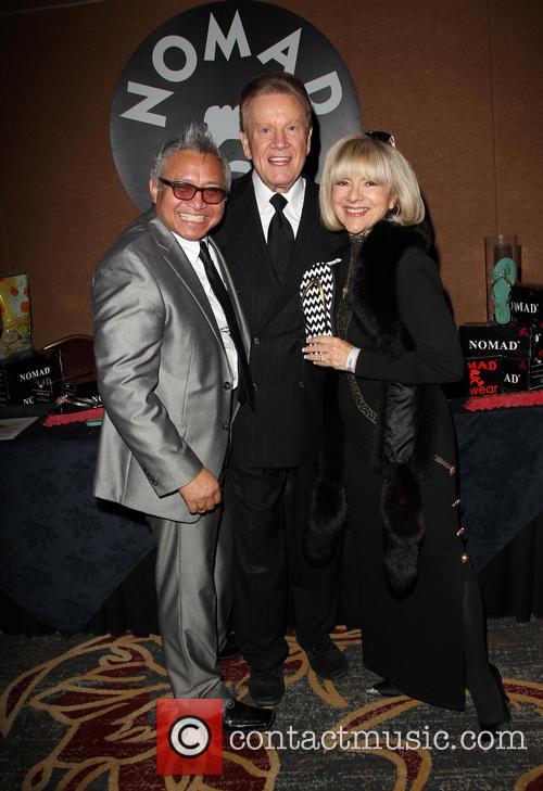 Pete Julienne, Wink Martindale, Sandy Ferra, Universal Hilton Hotel