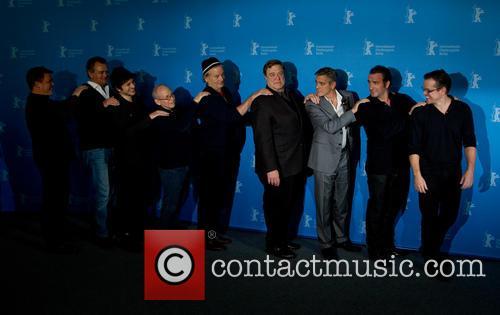 George Clooney, Matt Damon, John Goodman, Jean Dujardin, Bill Murray, Bob Balaban, Hugh Bonneville, Dimitri Leonidas and Justus Von Dohnanyi 8