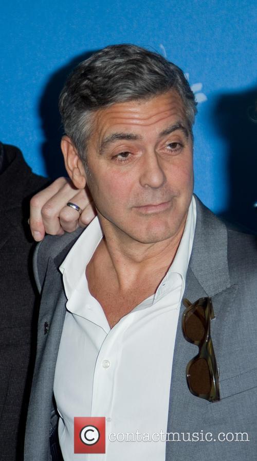 George Clooney, Hyatt Potsdamer Platz