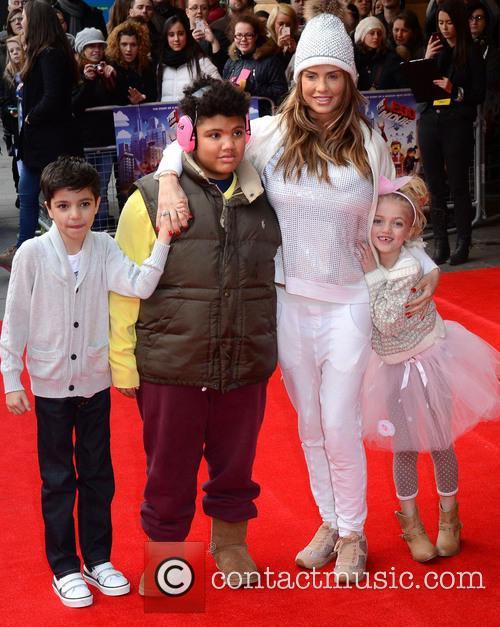 Junior Savva Andre, Harvey Price, Katie Price and Princess Tiaamii 1