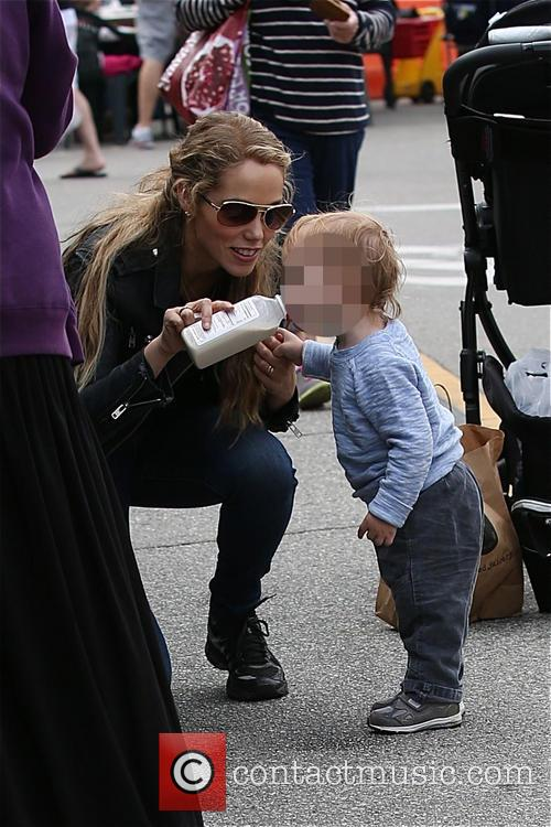 Elizabeth Berkley and Sky Cole Lauren 10