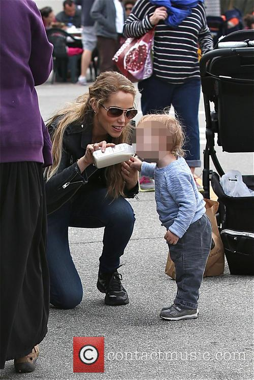 Elizabeth Berkley and Sky Cole lauren 13