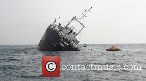 Cargo ship sinks in the Black Sea