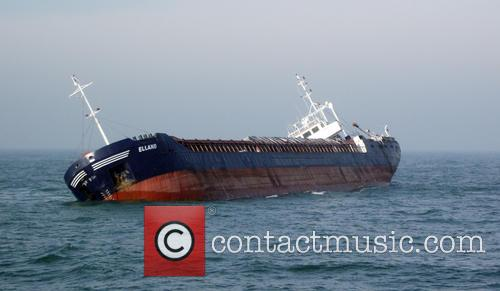 Cargo ship sinks in the Black Sea