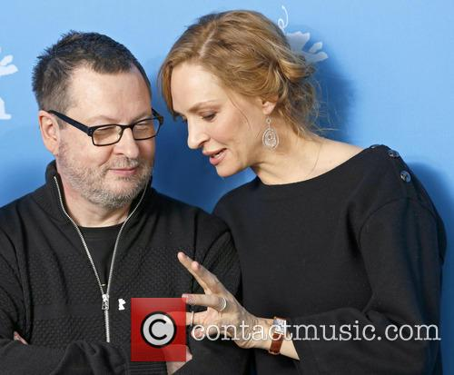 Lars Von Trier and Uma Thurman 9