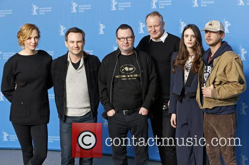 Uma Thurman, Christian Slater, Lars Von Trier, Stellan Skarsgard, Stacy Martin and Shia Labeouf 10