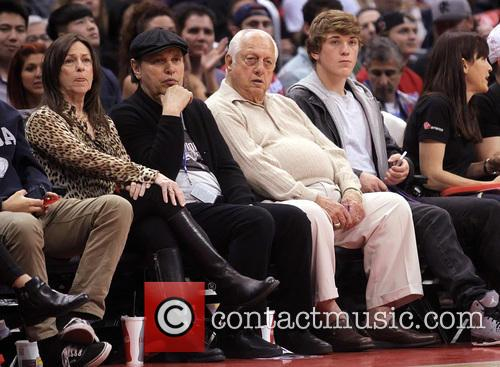 Billy Crystal, Tommy Lasorda and Janice Crystal 2