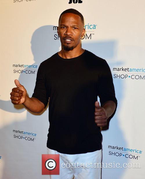 jamie foxx team fat joe celebrates market 4060700
