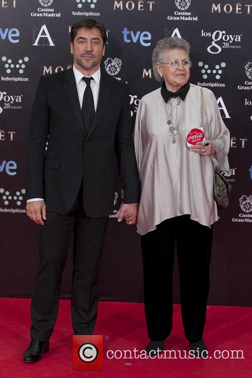 Javier Bardem and Mother Pilar Bardem 5