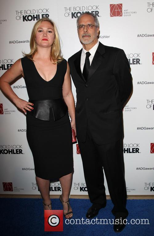 Julia Stiles and Jon Avnet