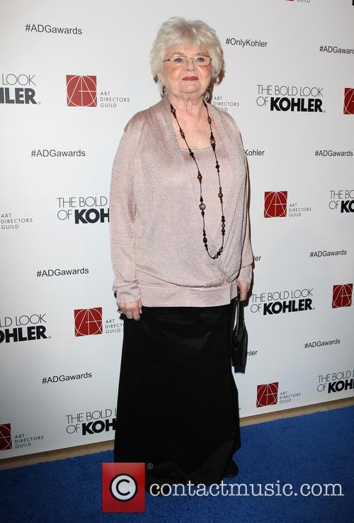 June Squibb, The Beverly Hilton Hotel