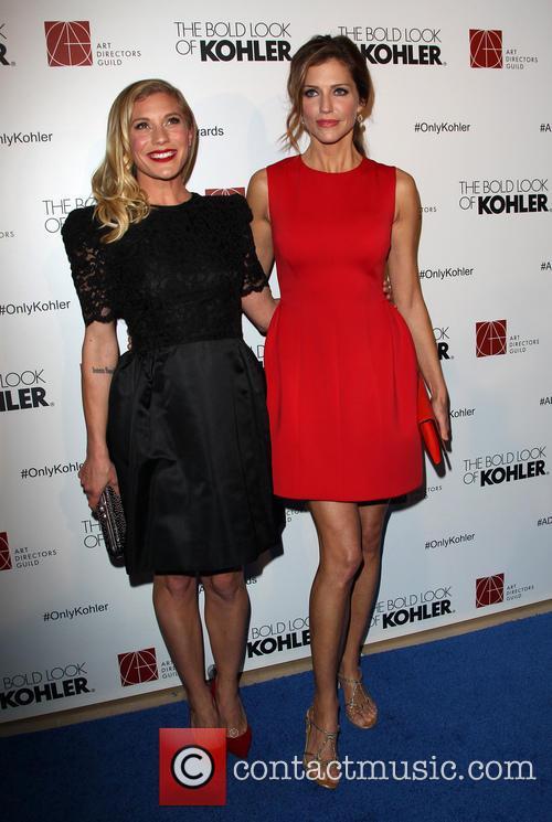 Katee Sackhoff and Tricia Helfer 11