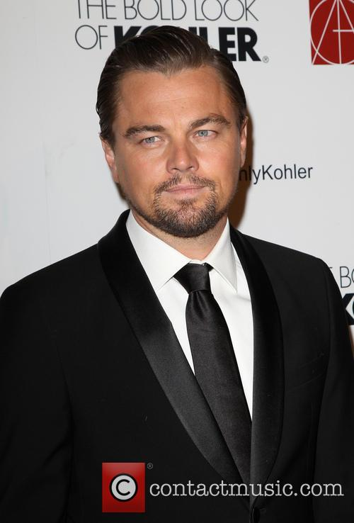 Leonardo DiCaprio at Annual Art Directors Guild Excellence In Production Design Awards