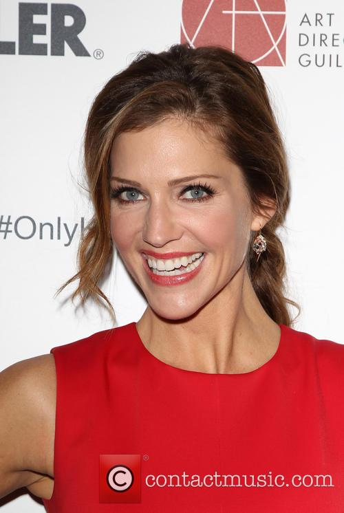 Tricia Helfer, The Beverly Hilton Hotel