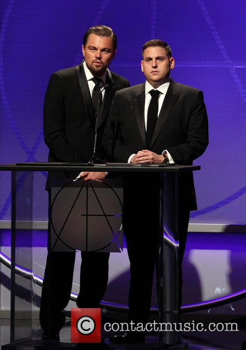 Leonardo DiCaprio, Jonah Hill, The Beverly Hilton Hotel