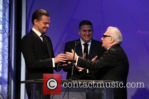 Leonardo Dicaprio, Jonah Hill and Martin Scorsese 5