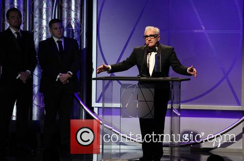 Leonardo Dicaprio, Jonah Hill and Martin Scorsese 11