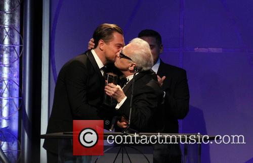 Leonardo DiCaprio, Jonah Hill and Martin Scorsese 10
