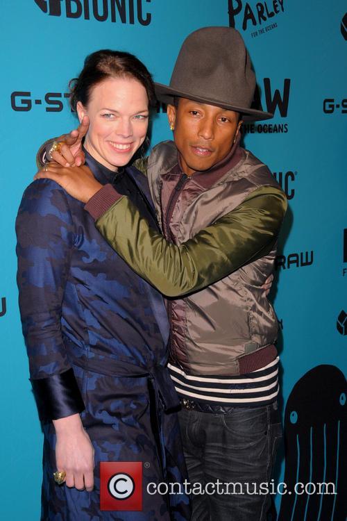 Thecla Schaeffer and Pharrell Williams 2