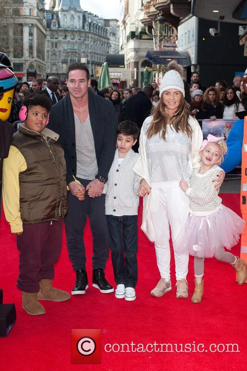 Katie Price, Kieran Hayler, Princess Tiaamii Crystal Esther Andre, Harvey Price and Junior Savva Andreas Andre 11