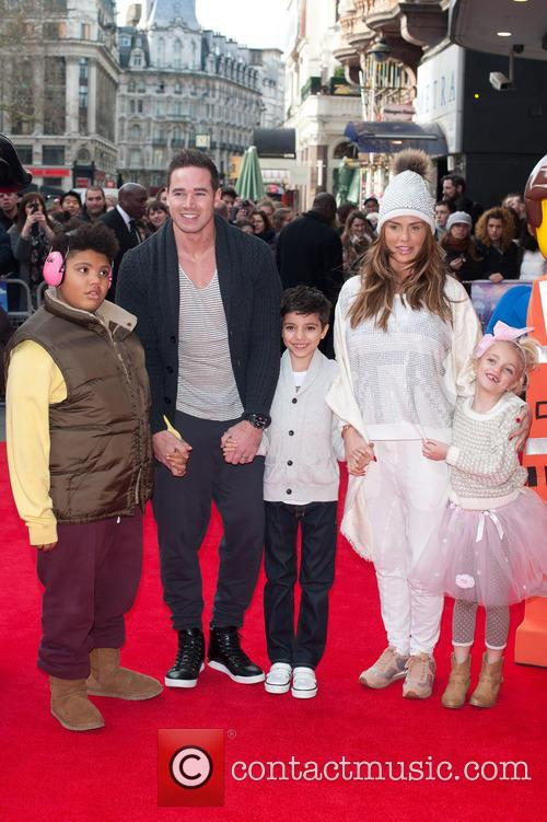 Katie Price, Kieran Hayler, Princess Tiaamii Crystal Esther Andre, Harvey Price and Junior Savva Andreas Andre 1