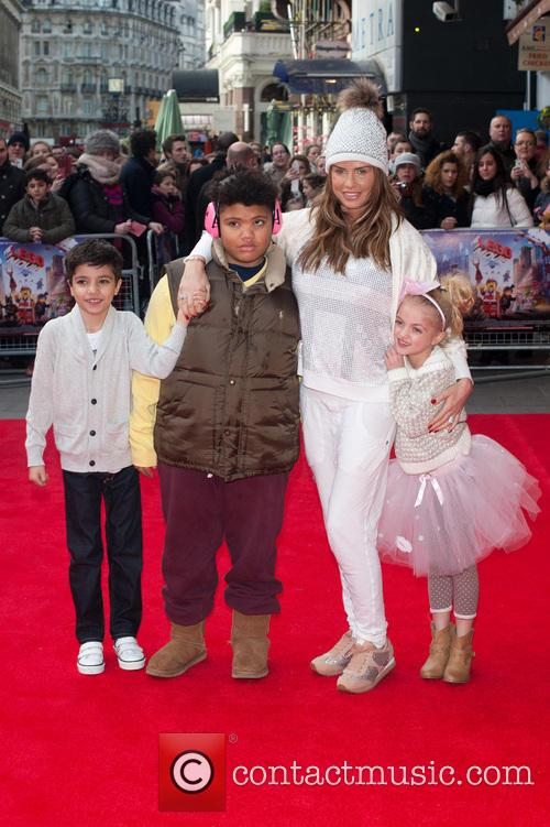 Katie Price, Princess Tiaamii Crystal Esther Andre, Harvey Price and Junior Savva Andreas Andre 9