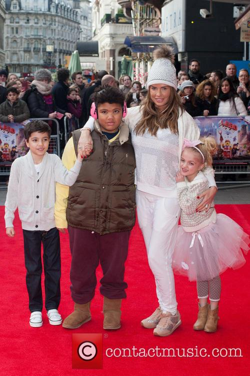 Katie Price, Princess Tiaamii Crystal Esther Andre, Harvey Price and Junior Savva Andreas Andre 10