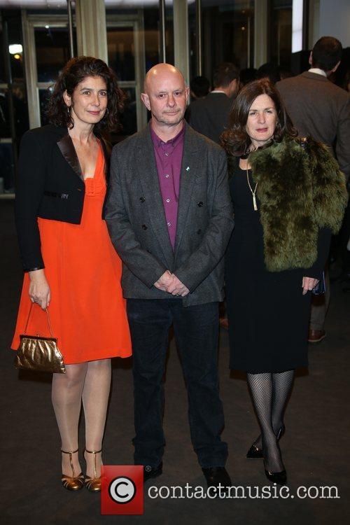 Nick Hornby, Producers Amanda Posey (l) and Finola Dwyer (r 2
