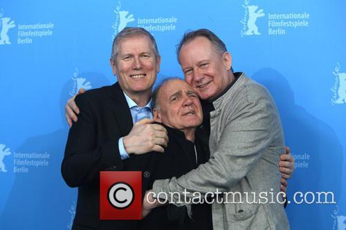 Hans Petter Moland, Bruno Ganz and Stellan Skars 2